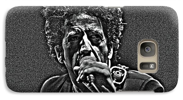 Galaxy Case featuring the digital art Willie Nile by Jeff Ross