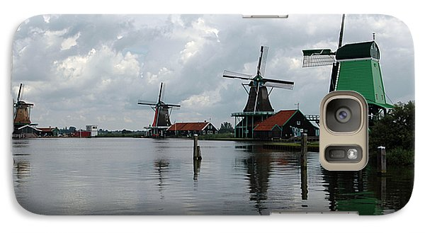 Galaxy Case featuring the photograph Windmills by Vilas Malankar