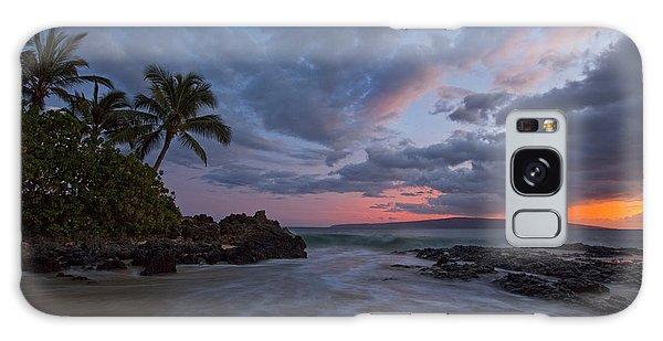 Secret Beach Sunset Galaxy Case