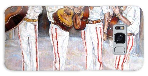 Mariachi  Musicians Galaxy Case by Carole Spandau