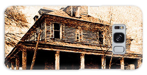 This Old House Galaxy Case by Chuck Mountain