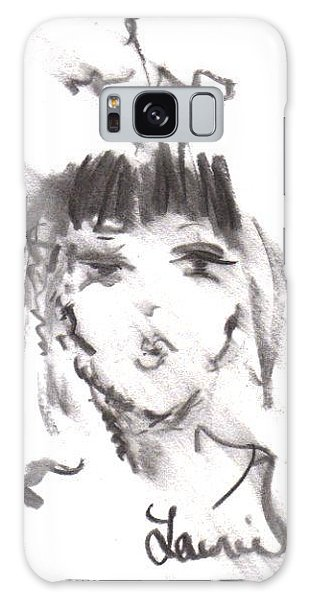 Queen Of Kisses Galaxy Case by Laurie L