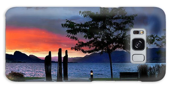 Galaxy Case featuring the photograph A Sunset Story by John Poon