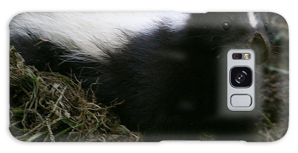 Here Kitty Kitty Galaxy Case by Barbara S Nickerson