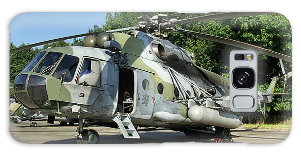 Mil Mi-17 Hip Galaxy Case by Tim Beach