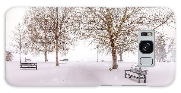 Galaxy Case featuring the photograph A Beautiful Winter's Morning  by John Poon