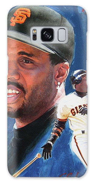 Barry Bonds In The Shadow Galaxy Case by Cliff Spohn