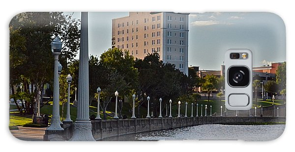 Beautiful Downtown Lakeland Galaxy Case by Carol  Bradley