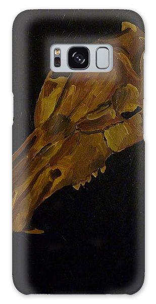 Boar's Skull No. 3 Galaxy Case