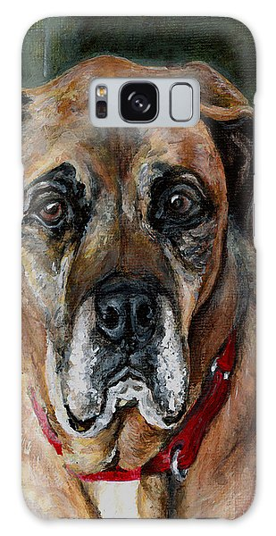 Boo For Dogtown Galaxy Case by Mary-Lee Sanders