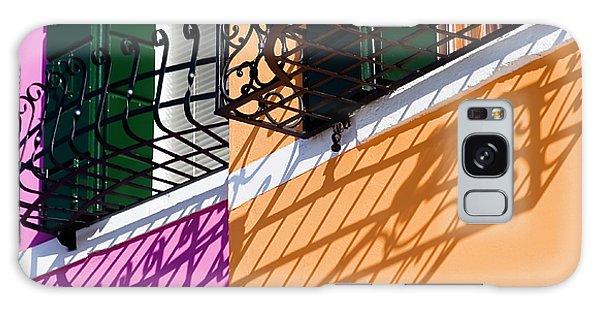 Burano Houses Galaxy Case by Stefan Nielsen