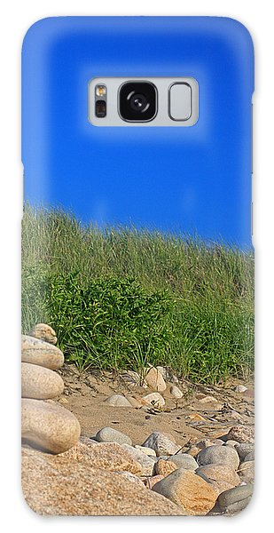 Cairn Dunes And Moon Galaxy Case by Todd Breitling