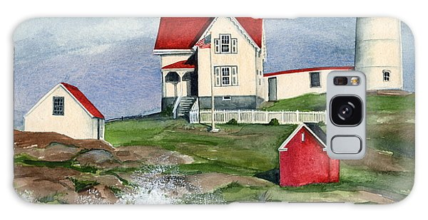 Cape Neddic Lighthouse  Galaxy Case