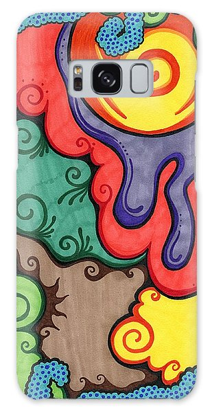 Caribbean Colors Galaxy Case