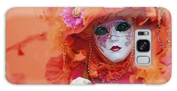 Carnival In Orange Galaxy Case by Stefan Nielsen