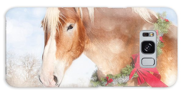 Dream Of A Gift Horse Galaxy Case