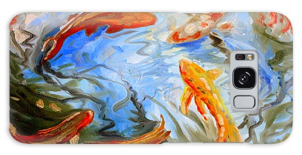 Fish Reflections Galaxy Case