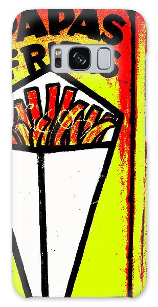 French Fries Santiago Style  Galaxy Case by Funkpix Photo Hunter