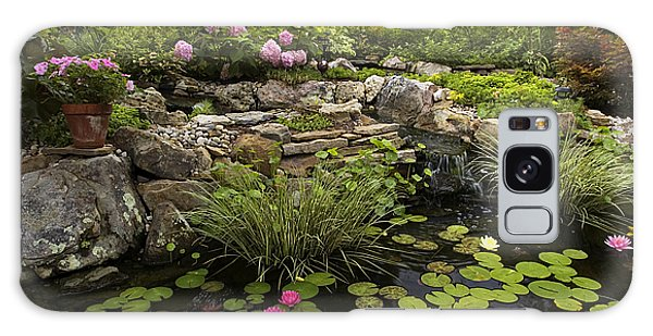 Garden Pond - D001133 Galaxy Case