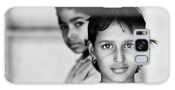 Indian Eyes Galaxy Case by Stefan Nielsen