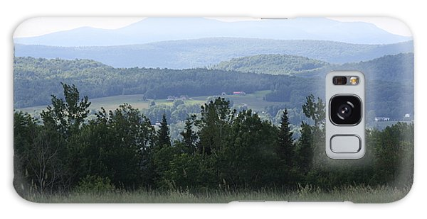 Jay Peak From Irasburg Galaxy Case by Donna Walsh