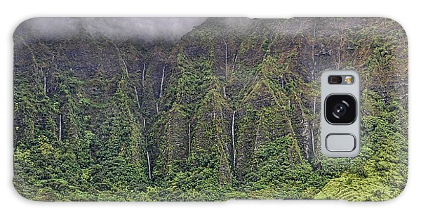 Ko'olau Waterfalls Galaxy Case by Dan McManus