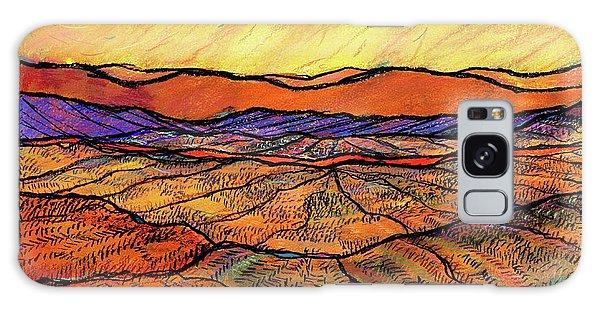 Landscape In Yellow Galaxy Case