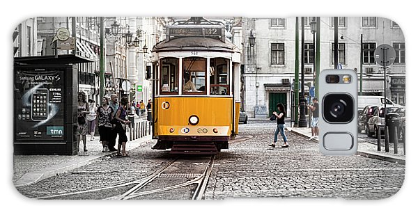 Lisboa Tram II Galaxy Case