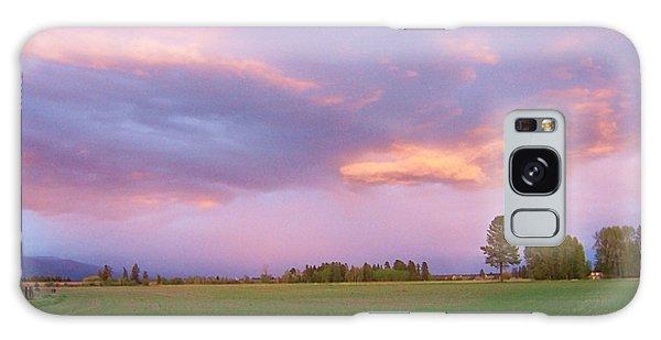 Montana Sunsets 3 Galaxy Case
