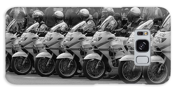 Motorcycle Brigade Galaxy Case by Robert Knight