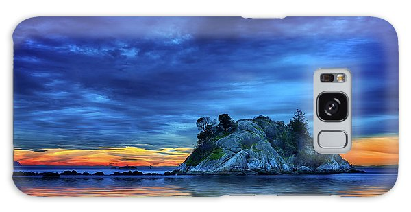 Galaxy Case featuring the photograph Pacific Sunset by John Poon