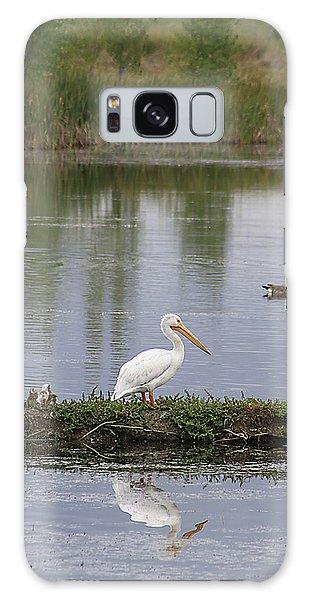 Pelican Reflection Galaxy Case