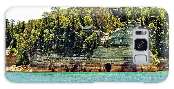 Pictured Rock 6323  Galaxy Case by Michael Peychich