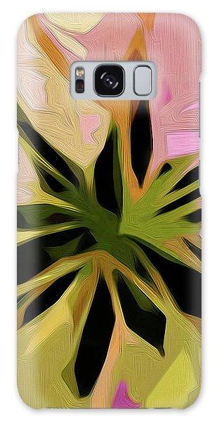 Poinsettia Tile Galaxy Case