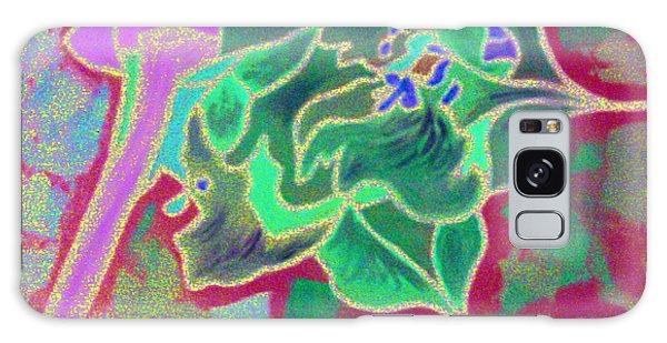Pomegranate Flower Galaxy Case