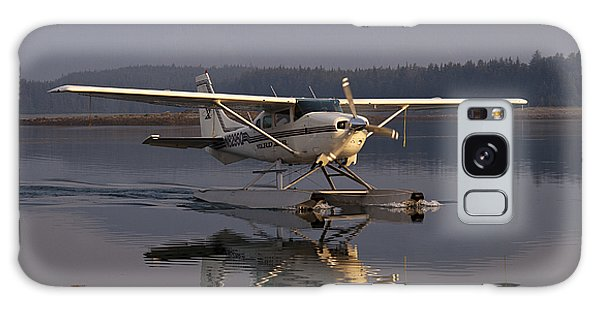 Reflections Of A Float Plane Galaxy Case by Darcy Michaelchuk