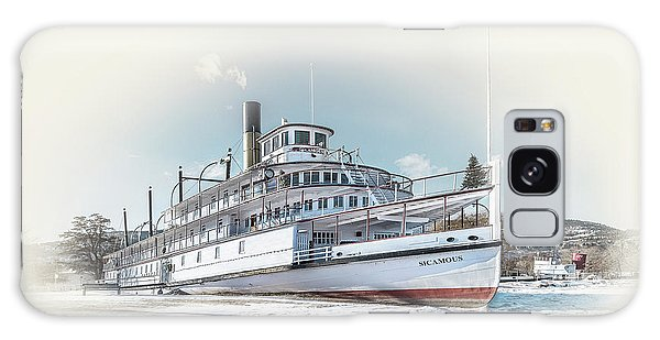 Galaxy Case featuring the photograph S. S. Sicamous II by John Poon