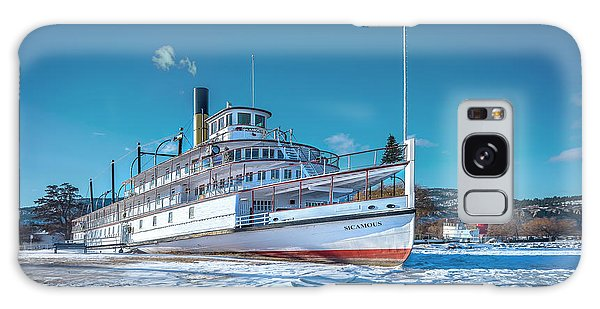 Galaxy Case featuring the photograph S. S. Sicamous by John Poon