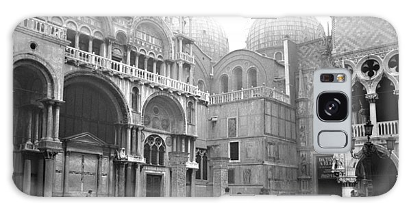 San Marco Piazza And Basilica In Venice Galaxy Case by Emanuel Tanjala
