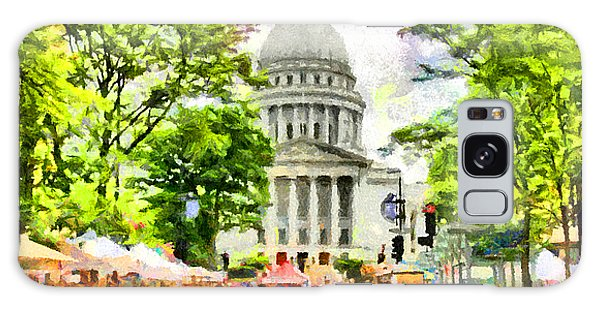 Capitol Building Galaxy S8 Case - Saturday In Madison by Anthony Caruso