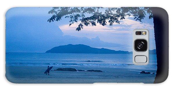 Strolling Surfer Galaxy Case by Todd Breitling
