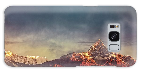 Sunrise On Anapurna Galaxy Case by Stefan Nielsen