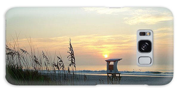 Sunrise Over Wrightsville Beach Galaxy Case