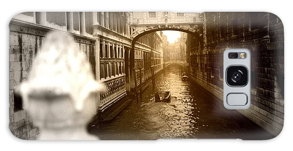 Venice Canal With Sunlight Galaxy Case by Emanuel Tanjala