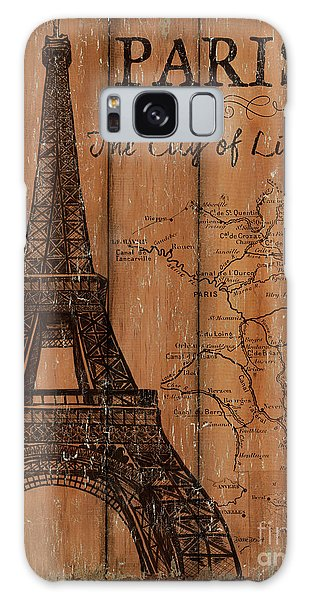 Vintage Travel Paris Galaxy Case by Debbie DeWitt