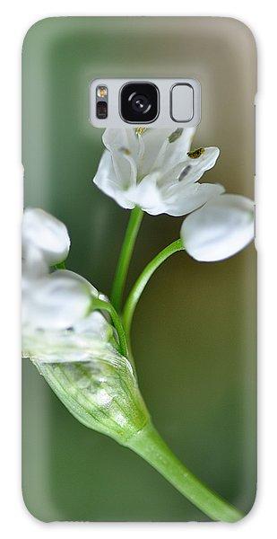 White Blossom 3 Galaxy Case