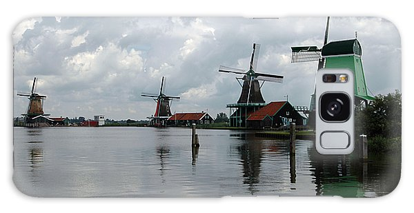 Windmills Galaxy Case by Vilas Malankar