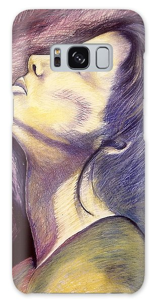 Worshiper Galaxy Case by Carrie Maurer