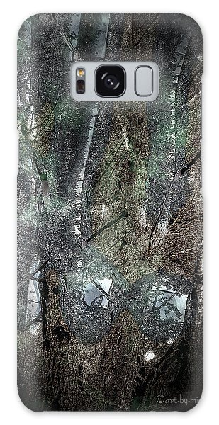 Zauberwald Vollmondnacht Magic Forest Night Of The Full Moon Galaxy Case