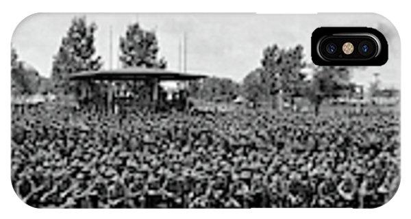 Mobilization Camp Syracuse Ny Usa IPhone Case